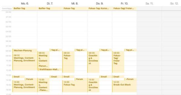 Idealer Kalender
